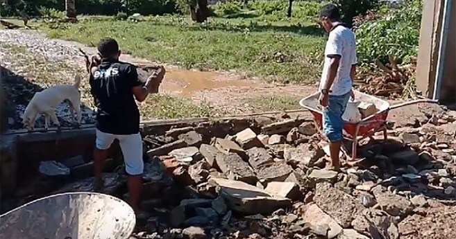 Team up After Flooding in Timor Leste