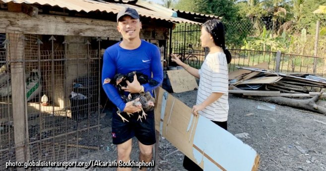 Nazareth Center Houses Lao Youth in Need as they Study in Vientiane (Laos)