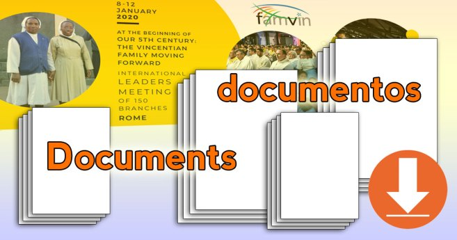 Documents from the Gathering of the Vincentian Family in Rome: January 2020