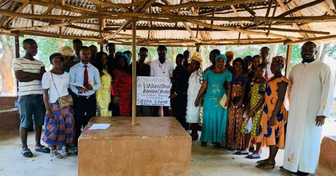 The Activities of the Vincentian Family in Sierra Leone