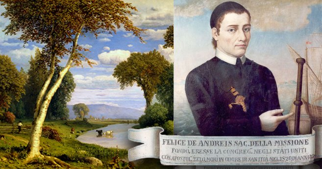 July 26: Arrival of Felix de Andreis, C.M., Joseph Rosati, C.M., and companions in the U.S.