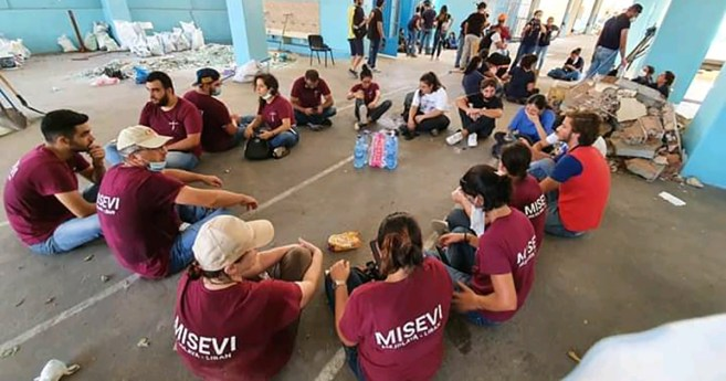 The Vincentian Family has Been Providing Assistance from the Day after the Explosion in Beirut