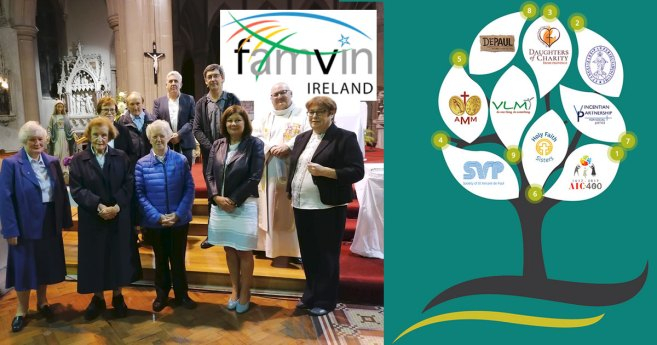 Launch of the New Vincentian Family Website in Ireland