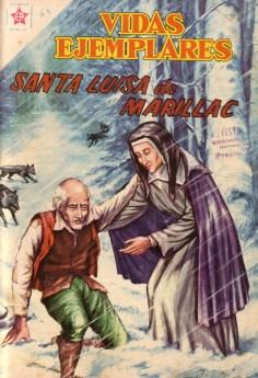 Vidas ejemplares: Santa Luisa de Marillac (cómic)