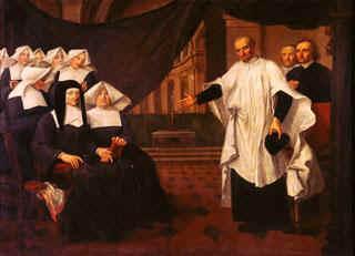 El Papa Francisco, Vicente de Paúl y las Hijas de la Caridad