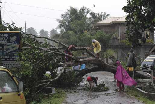 Solicitud de donativos para Filipinas