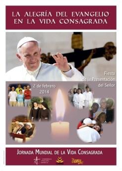 2 de febrero: Jornada Mundial de la Vida Consagrada