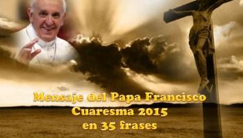 Mensaje De Cuaresma 2013 Del Cardenal Mario Bergoglio Hoy
