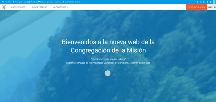 Nueva web conjunta de las provincias CM de Madrid, Salamanca y Barcelona (España)