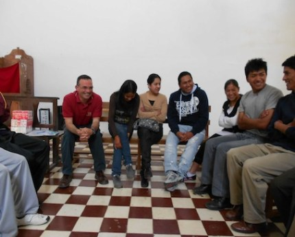 El P. Diego J. Pla, C. M., envía noticias desde El Alto (Bolivia)