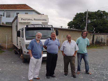 La fe recorre las carreteras brasileñas