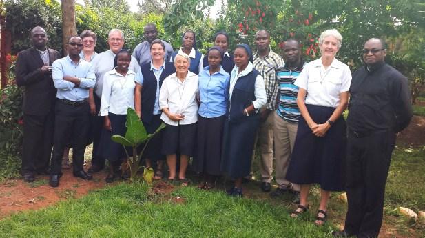 El Superior General, P. Gregory Gay, visitó Kenia
