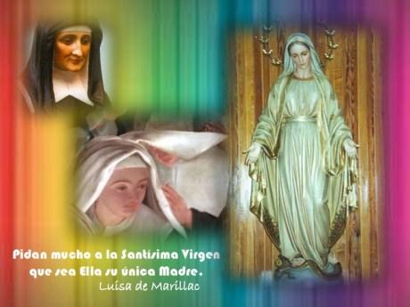 La Virgen María en Santa Luisa de Marillac