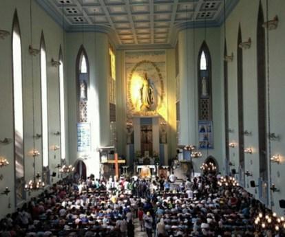 El Santuario de Nuestra Señora de la Medalla Milagrosa, de Río de Janeiro, cumple 60 años