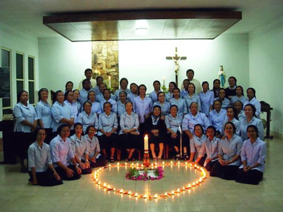 Colaboración Vicenciana en Indonesia: actuando juntos