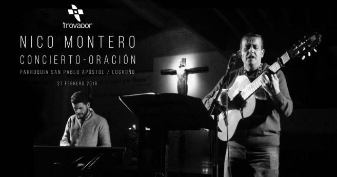 Concierto-oración de Nico Montero