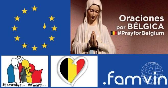 Oración y condena ante los atentados de Bruselas