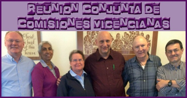 Reunión Conjunta de Comisiones Vicencianas