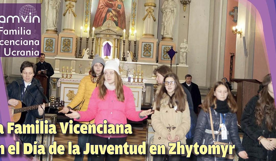 La Familia Vicenciana en el Día de la Juventud en Zhytomyr