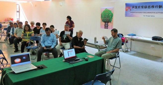 Taller para la Colaboración Vicenciana VFCAP en Taiwán
