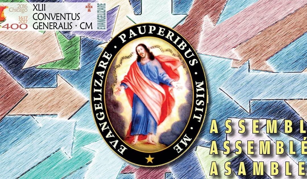 Web oficial y redes sociales de la próxima Asamblea General de la C.M.