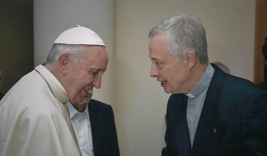 El Papa Francisco celebra la fiesta de San Vicente de Paúl con el P. Tomaž Mavrič, C.M., y la Familia Vicenciana