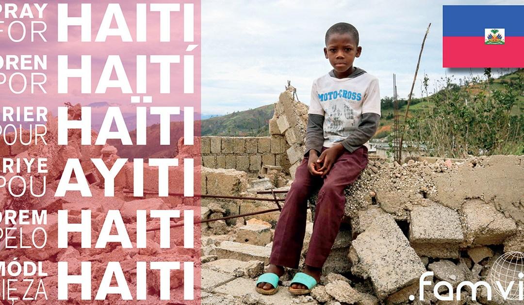 Las Hijas de la Caridad visitan algunos de los lugares devastados por el Huracán Matthew en Haití