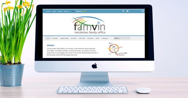 La Oficina de la Familia Vicenciana anuncia su nuevo sitio web