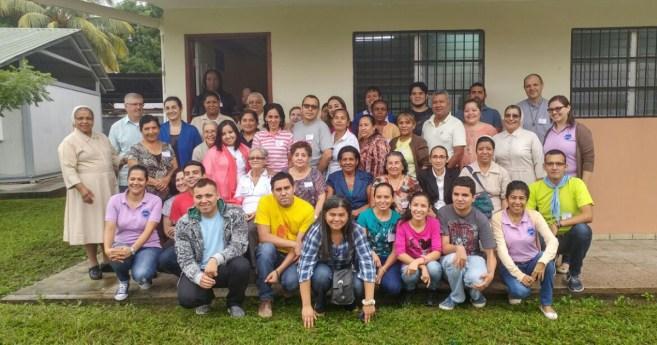 Reunión del Consejo Nacional de la Familia Vicenciana en Honduras