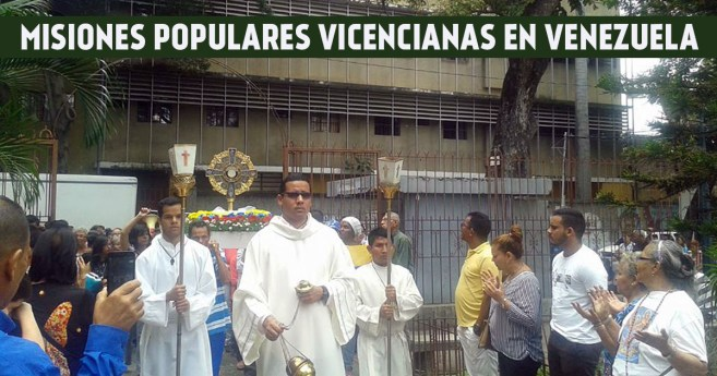2017, un año misionero para la Familia Vicenciana en Venezuela