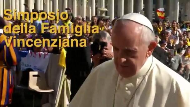 Hermosas imágenes del encuentro de los Vicencianos con el papa Francisco
