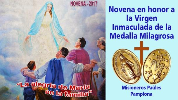 """Novena a la Virgen Milagrosa, día 8: Jesucristo, rey del universo: """"día de la mision de Honduras: puente de fraternidad"""""""