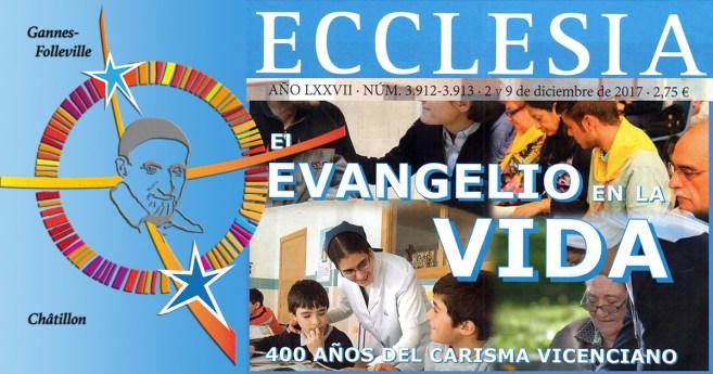 Los 400 años del carisma vicenciano en la revista Ecclesia