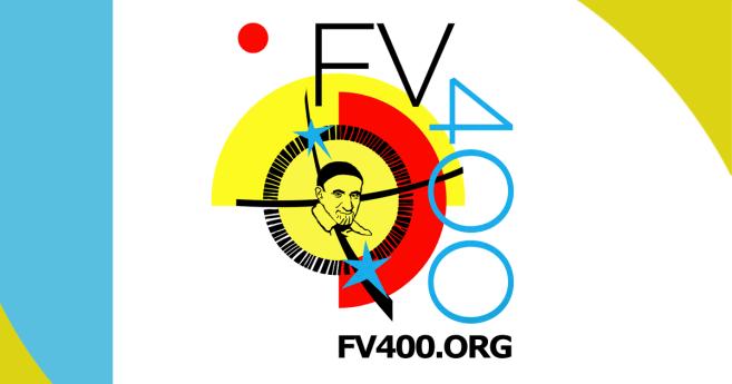 Logotipo e informaciones sobre el festival y concurso «Encontrando a Vince 400»