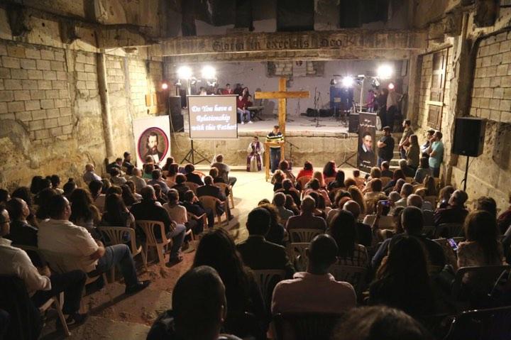 Los Vicencianos del Líbano desean reconstruir la Iglesia de San Vicente de Paúl, afectada por la guerra civil