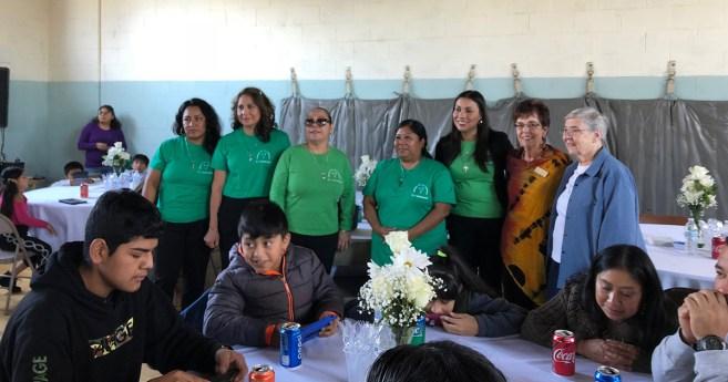 Nuevos miembros de las Damas de la Caridad en Norristown, Pensilvania, Estados Unidos