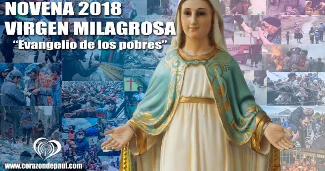 Novena a la Virgen Milagrosa 2018: día 3