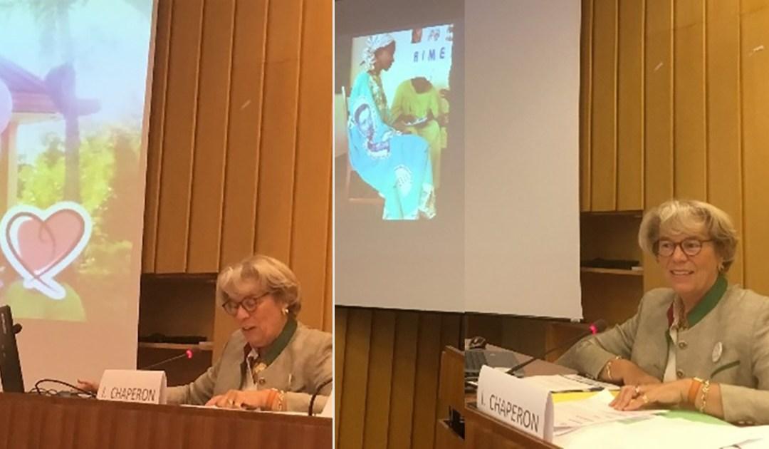 AIC participó en el Día Internacional de la niña, celebrado por las ONG en la UNESCO