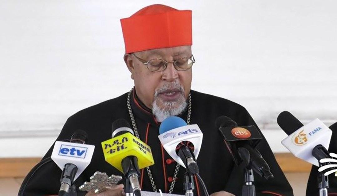 El cardenal Souraphiel, misionero paúl, presidente de la Comisión de la Verdad y la Reconciliación etíope