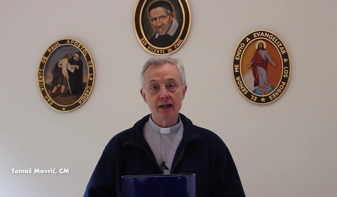 Mensaje de Pascua del p. Tomaž Mavrič, C.M., presidente del Comité Ejecutivo de la Familia Vicenciana