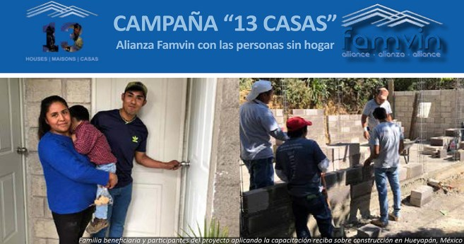 """¿Qué pasaría si la Campaña """"13 Casas"""" no fuera solo sobre """"13 casas""""?"""