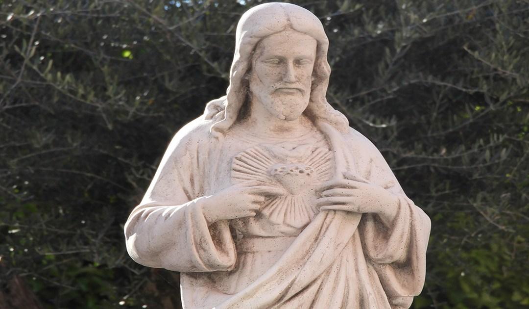 El corazón de Jesús es el alfarero; el mío, la arcilla