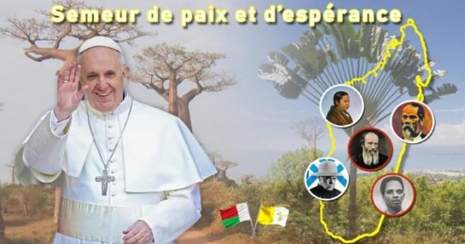 Viaje apostólico del Santo Padre a Mozambique, Madagascar y Mauricio, 4-10 de septiembre de 2019