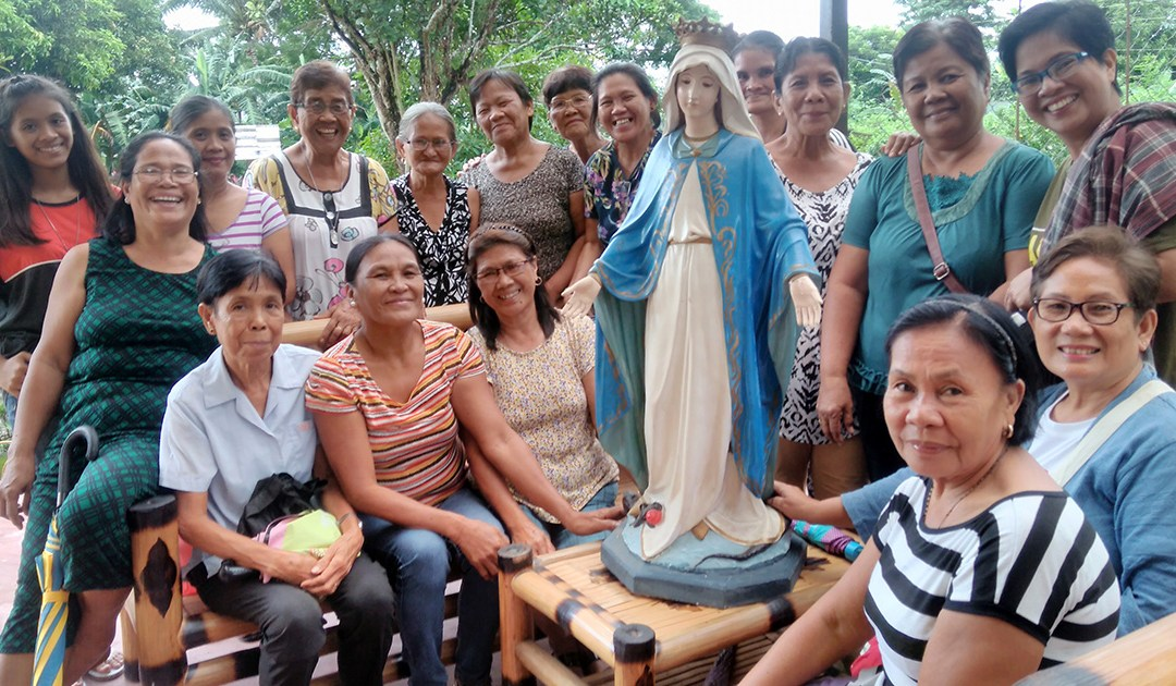 La Asociación de la Medalla Milagrosa, llena de vida en Filipinas