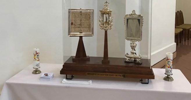 Peregrinación de las reliquias de San Vicente de Paúl en Ucrania