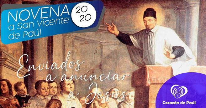 Novena a san Vicente de Paúl 2020: Día 1