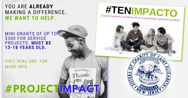 Atención, jóvenes de 13 a 18 años: #TenImpacto – Descripción general de las mini subvenciones