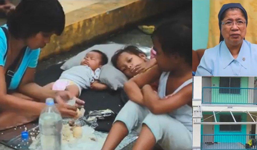 El camino de Hospicio de San José con los indigentes de Metro Manila