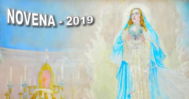 Novena a la Virgen Inmaculada de la Medalla Milagrosa (Pamplona, 2019)