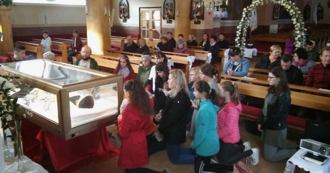 Peregrinación de las reliquias de San Vicente a la República Checa